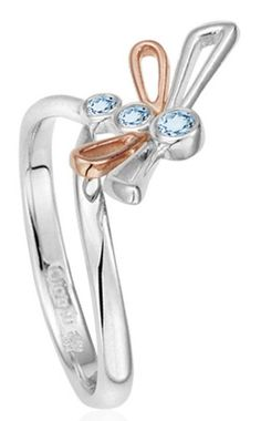 Clogau Ring Damselfly Silver | C W Sellors Fine Jewellery and Luxury Watches