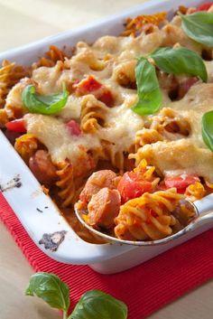 Pasta Carbonara, Spring Party, Fusilli, Ravioli, Lasagna, Macaroni And Cheese, Cooking, Ethnic Recipes, Koti
