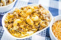 Johnny Marzetti Casserole Johnny Marzetti Casserole Recipe, Casserole Recipes, Beef Casserole, Casserole Dishes, Entree Recipes, Pasta Recipes, Dinner Recipes, Cooking Recipes, Healthy Recipes