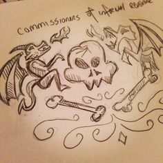 Working on an idea for the Commissioners of Infernal Revenue