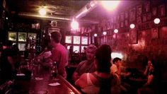 The bar at The Old Town Ale House. Laid-back, cash-only dive bar near Second City with a storied past, old-school jukebox & funky art. Address: 219 W North Ave, Chicago, IL 60610
