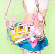 Dollskill Clear Satchel