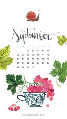 Oana Befort September 2015 Calendar on Flickr. Credit: Oana Befort