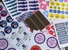 Etiquetas Personalizadas En Vinil Autoadherible A Todo Color