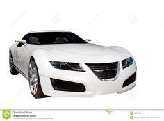 White Luxury Sports Cars