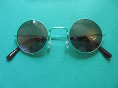 2er Set Sonnenbrillen mit runden Gläsern Hippie Goa Stil 70er Jahre Brille    shop orangeblooming   Pinterest   Goa, 70 jahre und Hippie Style 0892354f90e8