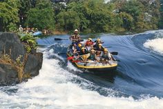 The highly Adventurous River Rafting Tours of #Goa