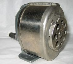 $18.95 VTG BOSTON Model KS Metal Pencil Sharpener Camden NJ USA Choward Hunt Pen Co