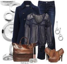 """""""Lace Blouse"""" by kimberly-lp on Polyvore"""