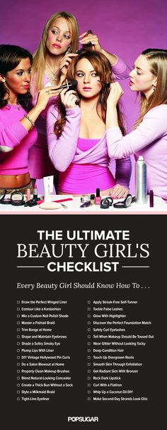 Have you mastered these hair, makeup, and skin care must-knows? Every beauty girl should!