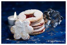 Czech Christmas Cookies; Czech Linecke Cookies; Linecka kolecka; Central European Cookies; Cookies; Christmas cookies;