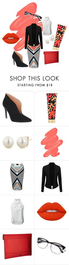 """""""Women in Business"""" by distinctivelygiftedladyt on Polyvore featuring Penny Loves Kenny, Victoria's Secret, Honora, Obsessive Compulsive Cosmetics, WithChic, Lime Crime and Rebecca Minkoff"""