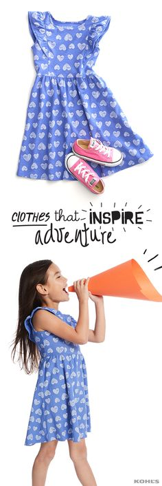 For the little girl who pairs dresses with sneakers and skinned knees, the new, fun-to-wear and up-for-anything look of Jumping Beans is perfect for all of her adventures. Get easy to pair, easy to wear Jumping Beans clothes for kids at Kohl's.