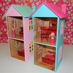 Houses for Peg Dolls