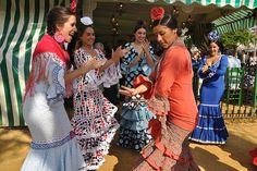 Feria de Abril de #Sevilla - A Bailar!!