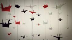 tsuru!! :) PAPER BIRDS | Ignacio Valensi