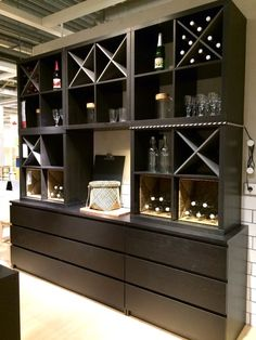 Image result for ikea kallax hack on casters