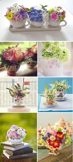 Artificial Floral Arrangements, Flower Arrangements, Decoration Table, Flower Boxes, Paper Flowers, Tea Party, Beautiful Flowers, Diy And Crafts, Wedding Flowers
