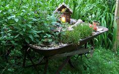 this fairy garden!