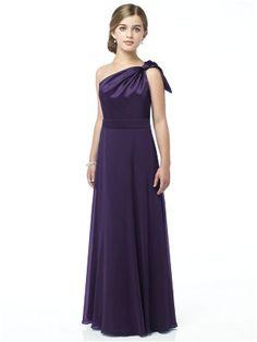 junior bridesmaids dress