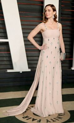Emily Blunt - 2016 Oscars Vanity Fair After-Party