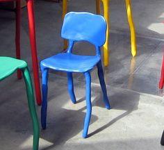 Design stoeltje van Maarten Baas
