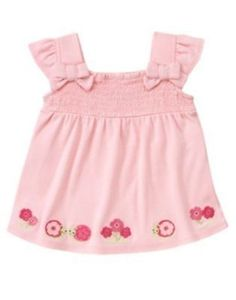 NWT Gymboree FAIRY GARDEN Pink Pleated Flower Dress Girls Size 4 4T