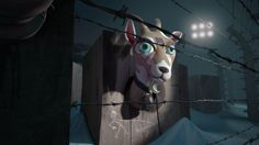 I, pet goat II. A story about the fire at the heart of suffering.  Bringing together dancers, musicians, visual artists and 3d animators, th...