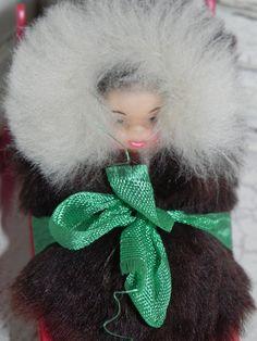 Miniature Alaska Baby Papoose On A Sled by baublesandblingforu, $6.00