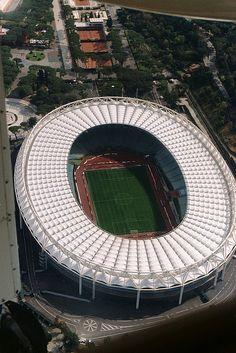 Stadio Olimpico, Rome #Roma #Lazio #Stadio