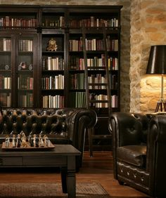 klassische private bibliothek auch hausbibliothek genannt b cherregal pinterest. Black Bedroom Furniture Sets. Home Design Ideas
