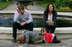 Parenting. This is one of my favourite pictures of any royal, from anywhere. Mary is like 'if I just keep impressing everyone with my bilingualism they won't notice my kid melting down,' and Frederik doesn't know whether to laugh, cry or chuck the kid in the fountain.