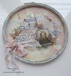 Created for the Simon Says Stamp Blog using Tim Holtz products