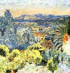 Pierre Bonnard, La Côte d'Azur, 1923