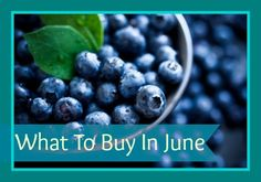 Vegetables & Fruit in Season: June Grocery Store Trends 2013 - Southern Savers