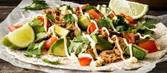 Pulled pork -tortillat Caprese Salad, Cobb Salad, Pulled Pork, Bbq, Food, Pull Pork, Barbecue, Meals, Yemek