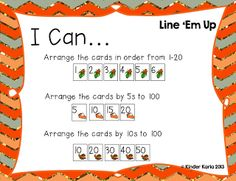 Maths stations I can charts- like the simple dice game rolling to get 20 and stating how many you have and how many more you need to get to 20