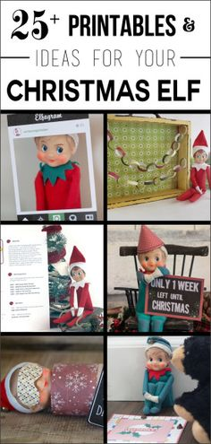 Ready for some help this Elf Season? Then you need the Ultimate Christmas Elf Book of Ideas - 25+ Printables and Ideas!!