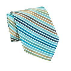 Enro Modern Striped Woven Silk Tie #VonMaur #Enro #Mens
