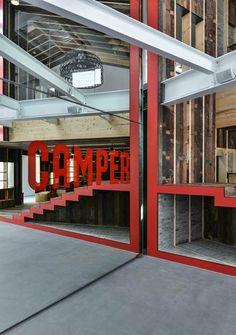 CAMPER Showroom Shanghai. China. 2013