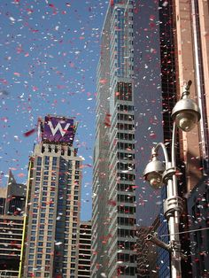 definitely want to attend a ticker tape parade in NYC