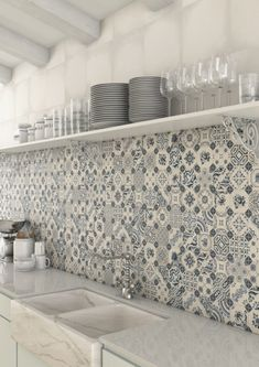 Decorative Kitchen Splash Back Wall Tiles