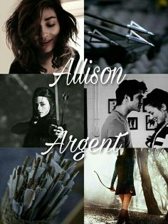 Allison Argent, Teen Wolf, Allison, Scott, bow and arrow