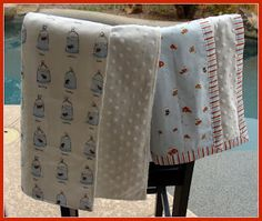 sew.simply.creative: Two Simple and Fabulous Baby Blanket Tutorials