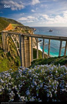 Bixby Bridge, Big Sur, California by Maria Draper | 500px Prime