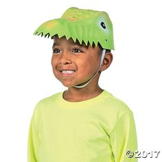 Your dinosaur party guests will have a roaring good time with these dinosaur party hats. Hand them out when the party starts for some dino-mite party fun! ...
