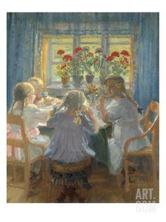 Afternoon Tea - Anna Ancher