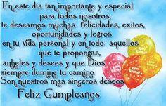 Animated Gif by raychen-rodriguez Happy Birthday In Spanish, Happy Birthday Notes, Happy Birthday Pictures, Birthday Songs, Sister Birthday, Birthday Quotes, Birthday Wishes, Bday Cards, Life Quotes