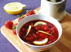 zadanie - gotowanie: Marokański pikantny dżem truskawkowy.