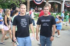 Christian T Shirt Fundraising is a perfect Church Fundraising Idea! Find out how to make it super profitable and successful through this article...  www.rewarding-fundraising-ideas.com/christian-t-shirt-fundraisers.html  (Photo by GrendalKhan / Flickr)